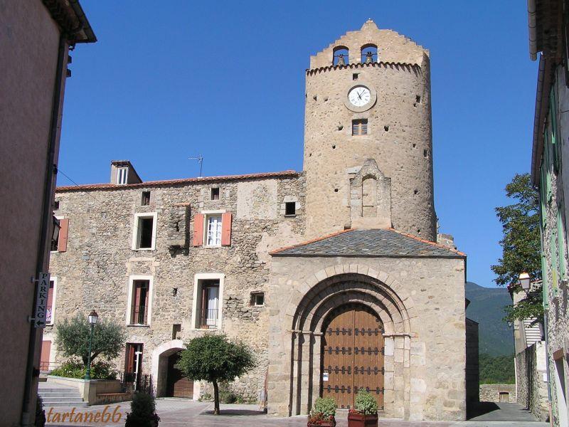 église de molitg les bains village