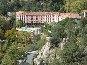 cure thermale et grand hotel de molitg
