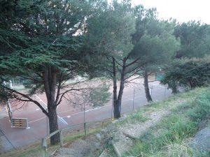 Terrain de tennis a Molitg